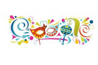 Google también se sumó a los festejos de Carnaval