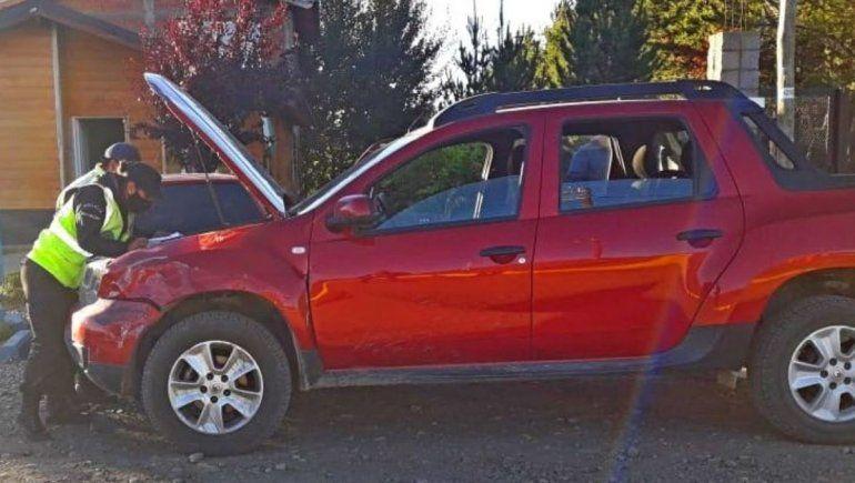 Encontraron en Dina Huapi un vehículo robado en Neuquén