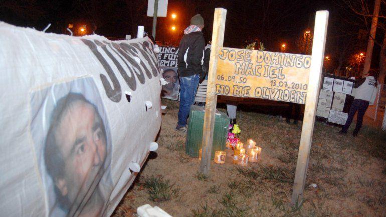 En julio se cumplirán seis años del crimen del trabajador José Maciel.