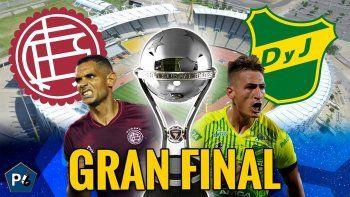 Defensa y Lanús definen la Sudamericana, con un grande muy expectante