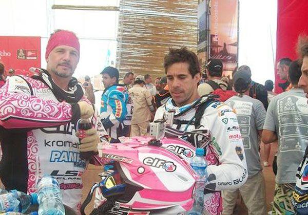 En marcha el cuarto Dakar para Pablo Busin