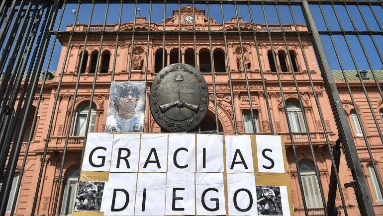 Diego será velado en la Casa Rosada desde mañana