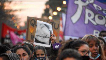 galeria: asi se vivio la marcha por el femicidio de agostina