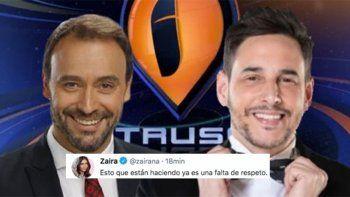 La encuesta de Intrusos sobre la separación de Zaira Nara y Diego Forlán, que hizo enojar a la modelo