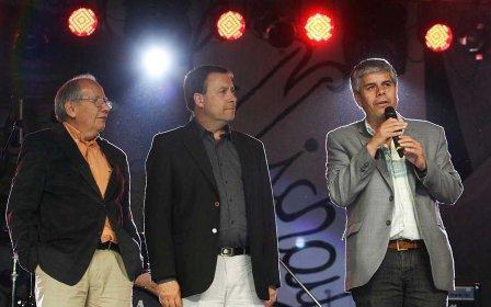 Weretilneck y Peralta en la Fiesta del Michay