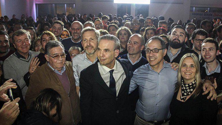 Pichetto encabezó un acto de campaña en Cipolletti