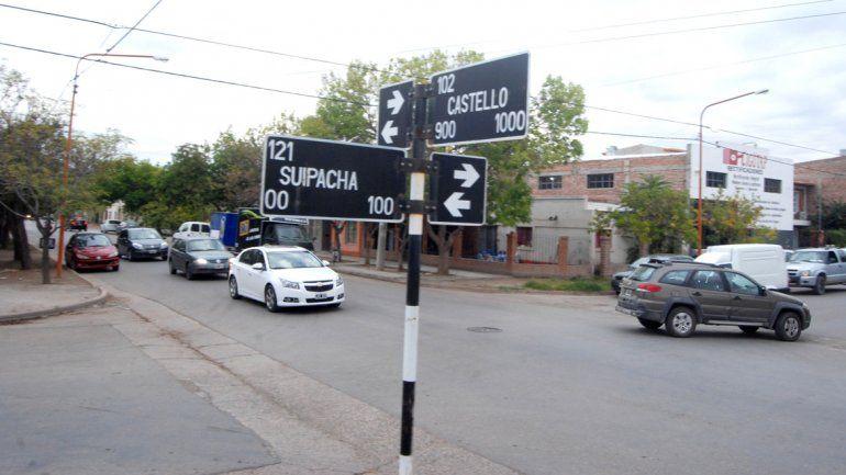 El incidente se produjo sobre calle Suipacha