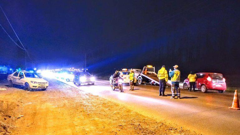 Ruta 151: manejaba descontrolado con 1,88 g/l de alcohol y lo detuvieron