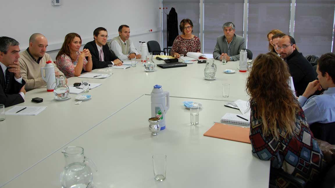 Reunión para analizar el Código Procesal Administrativo