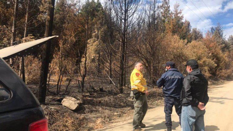 Peritos de la Policía Federal intentarán determinar cómo comenzó el incendio que arrasó la Comarca Andina.