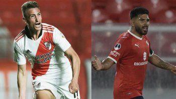 River recibe a Independiente en un partidazo: Hora, formaciones y TV