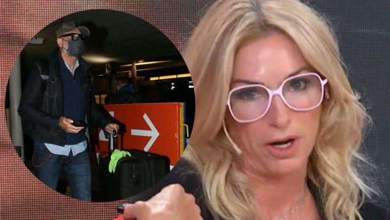 Yanina Latorre liquidó a Rial por viajar a Miami para vacunarse