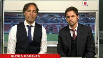 Estalló la interna de ESPN: Closs atendió a Gustavo López