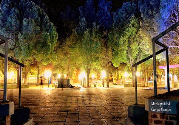 Campo Grande reinaugura una plaza
