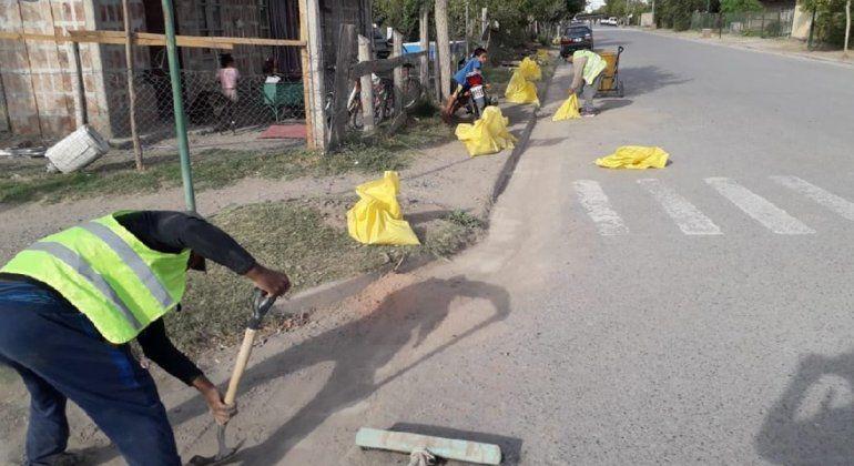 Más allá de la pandemia, la cooperativa Ebenezer mantiene limpia la ciudad