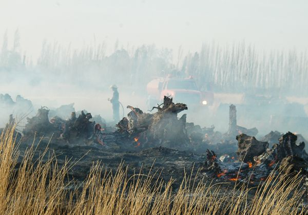 Bomberos sofocaron otro incendio