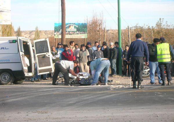 Accidente fatal en acceso a Allen