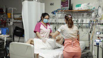 cipolletti: el 60 por ciento de la terapia intensiva esta ocupada
