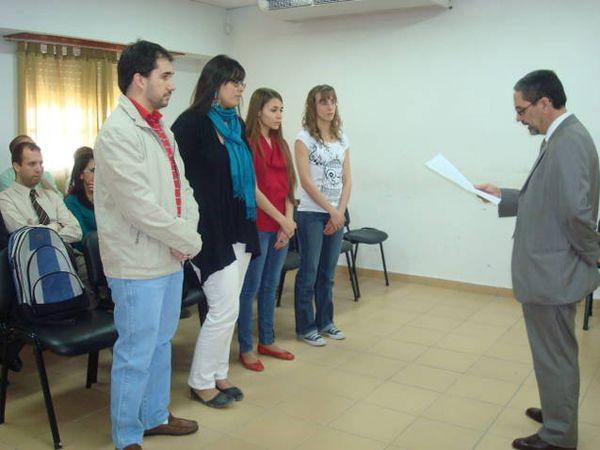 Estudiantes de Psicología inician sus prácticas en el Cuerpo Médico de Cipolletti