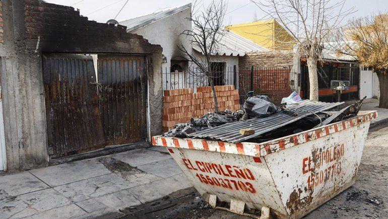 El niño quemado por la explosión está internado en Buenos Aires