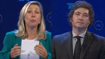 Debate caliente: el picante cruce entre Myriam Bregman y Javier Milei