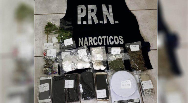 Desbaratan banda narco que operaba en Río Negro
