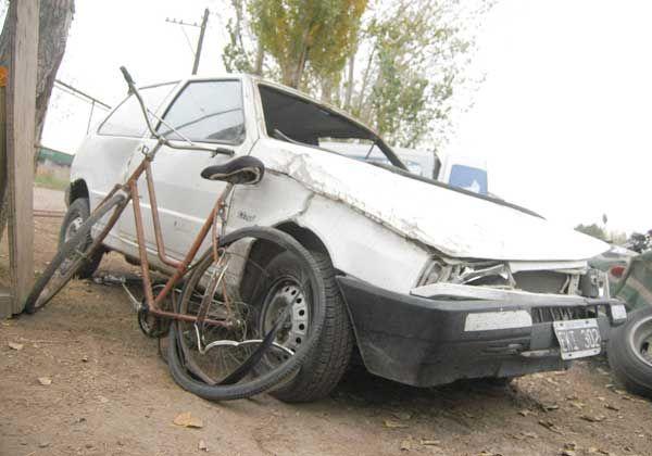 Murió un ciclista tras una colisión en la Ruta 22