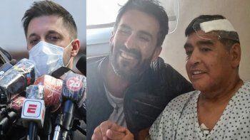 Morla salió a bancar al médico de Maradona: No te voy a dejar solo