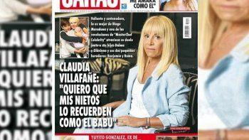 Escándalo de tapa: la extraña explicación de Caras por la nota con Claudia