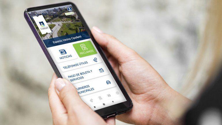 Crearon una App para que vecinos cipoleños puedan generar reclamos