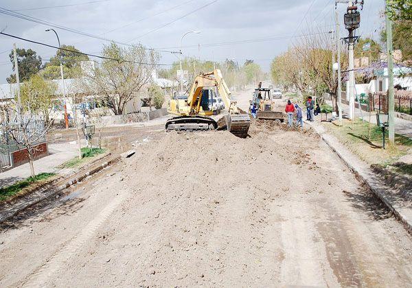 Nuevas cuadras de asfalto para Cordero