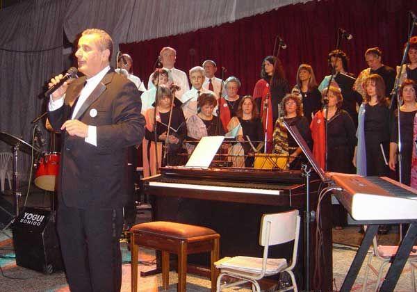 El coro se ha mantenido por  la comunidad