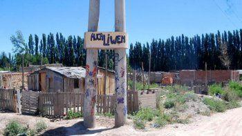 Las tierras de la toma Auca Liwen pertenecen a la familia Zoppi.