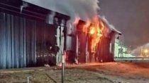 incendios: rio negro presento la denuncia por terrorismo
