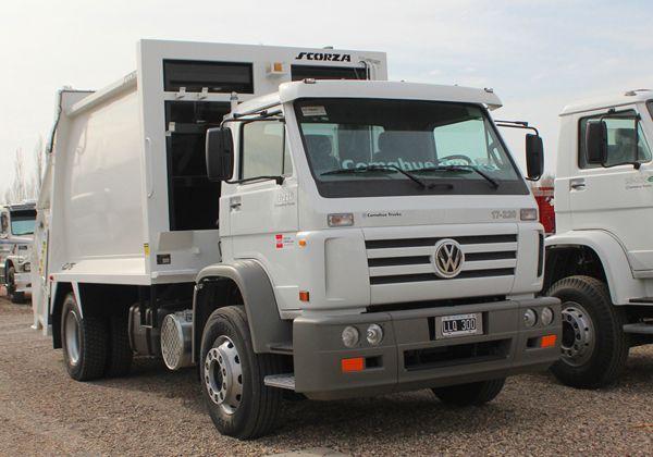 Presentarán los nuevos camiones de la basura