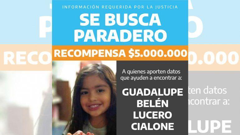 Búsqueda de Guadalupe: elevaron a $5 millones la recompensa
