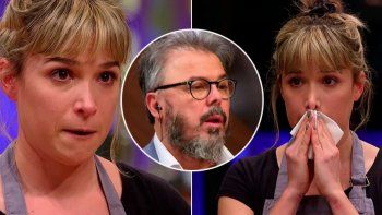 MasterChef: Donato hizo llorar a Sofía Pachano