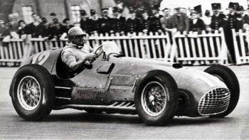 José Froilán González le dio el primer triunfo a Ferrari en la Fórmula 1