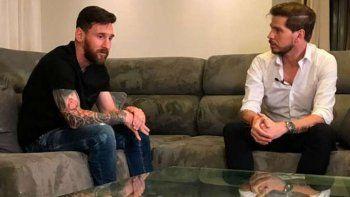 Qué dijo Vignolo de Messi y la selección que hizo estallar las redes