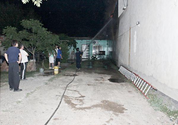 Incendio se habría derivado de explosión de bomba