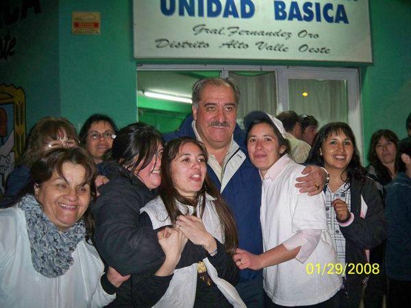 Gran triunfo del FpV en Fernández Oro