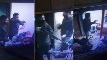 una pesadilla: ladrones vestidos de policias le robaron a una familia