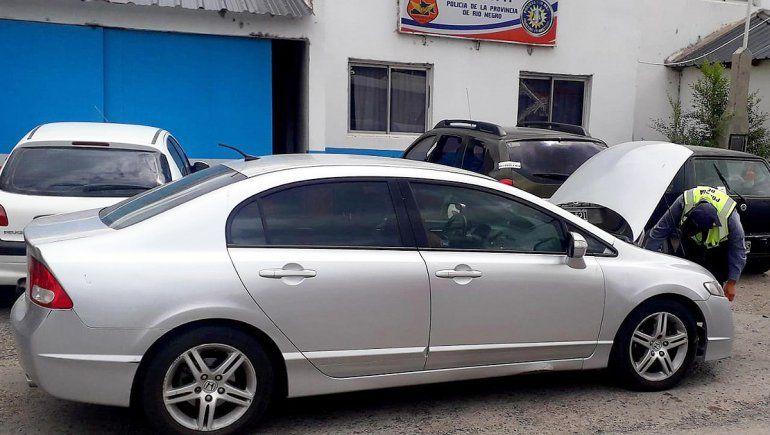 La Caminera secuestró un auto de alta gama que era robado