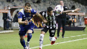 En un partido sin emociones, Boca empata con Atlético Mineiro