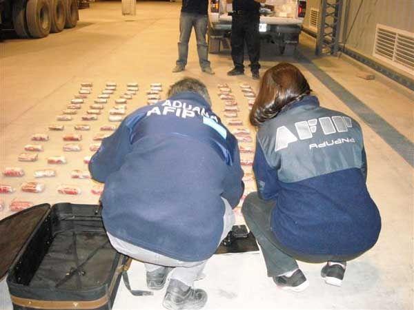 La AFIP impidió un contrabando de 46 kilos de marihuana en Mendoza