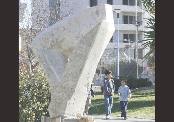 Colocan esculturas de simposios en los paseos verdes cipoleños