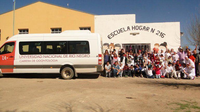 Escuela Hogar 216 Colan Conhue.