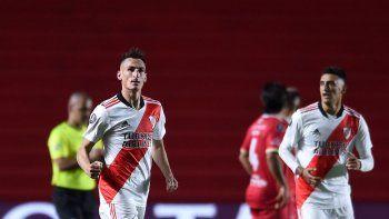 Minuto a minuto: River le gana a Argentinos con un golazo de Romero