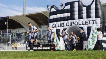 cipolletti quiere volver a ganar y consolidar la localia