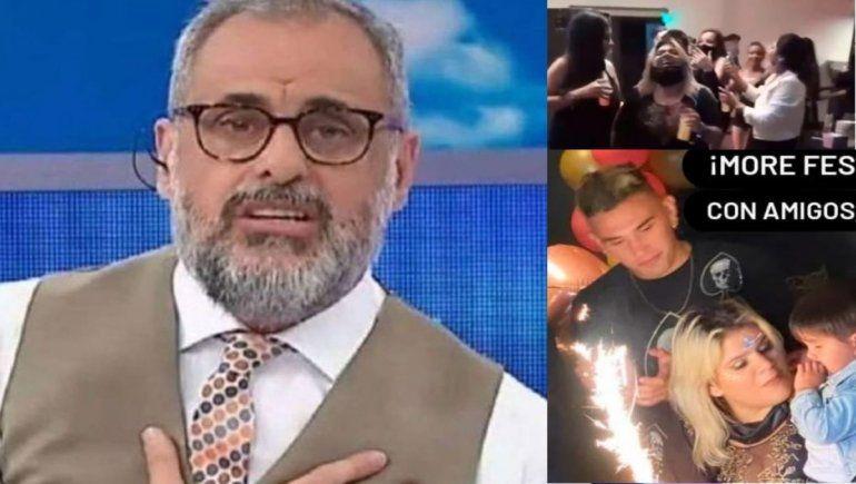 More Rial festejó su cumple sin protocolo y Jorge pidió perdón